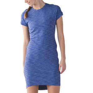 LULULEMON &go Where To Dress Heather Sapphire Blue